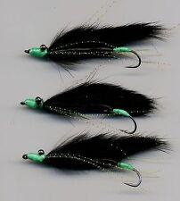 Trout Flies: MINI Viva Marauders: Snake Flies x 3  size 8 hook (code 517)