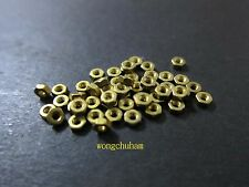 50 pcs M2 Brass Screw Nuts