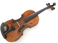 Interesting Antique Vintage Full size Violin with Joan Carol Klotz Label