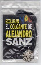 """ALEJANDRO SANZ PENDANT """"YOU"""" SPANISH MAGAZINE GIFT / NEW & UNUSED"""