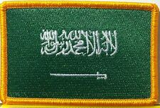 SAUDI ARABIA Flag Patch With VELCRO® Brand Fastener Military ARABIAN  Emblem