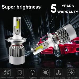 H4 9003 1500W 225000LM LED Conversion Headlight KIT High-Low Beam 6000K White US