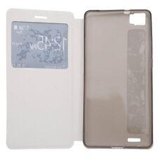 Flip cover / Leather case CUBOT X16 / X17 / X17S.Funda de tapa /tipo libro.White