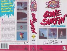 SURFING GONE SURFING VHS PAL VIDEO A RARE FIND