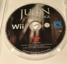 Ju-On The Grudge Nintendo Wii Game Rare PAL Disc Only