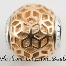 AUTHENTIC PANDORA 796049 14k GOLD/STERLING ESSENCE INTUITION CHARM S925 ALE
