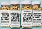 Trader Joe's Everything But the Bagel Sesame Seasoning - Onion, Garlic - 4 PACK