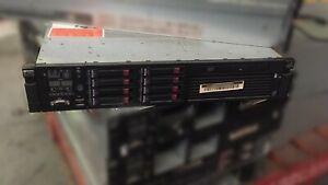 HP DL380 G6 2x Quad Core Xeon E5540 @2.53GHz 32GB RAM 4x146GB 4x300GB HDD #18