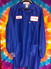 Rare Vintage Blue MOTOROLA Visitors Lab Coat - Mens Size M (Selling Collection)