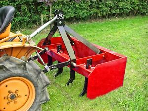 WRB4 - Winton Box Grader Blade - 4ft Wide - For Compact Tractors