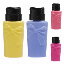 EG_ 150ml Empty Nail Press Pump Bottle Polish Remover Cleaner Dispenser Ornate B