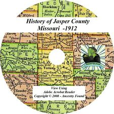1912 History & Genealogy of JASPER County Missouri MO