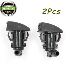 2PC Front Windshield Washer Nozzle for 2005-2010 Jeep Grand Cherokee 55079049AA