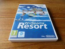 WII DEPORTES Resort NINTENDO WII Reino Unido PAL en caja y COMPLETO + puntos Club