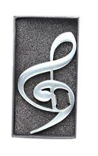 Treble & Bass Clef Bottle Opener - Music Gift - Gift for Music Teachers