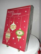 Christmas House Christmas cards - ornaments 10 Ct unused with envelopes