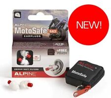 Alpine MotoSafe RACE Motor Sport Hearing Protection Motorcycle Earplugs - SUPERB