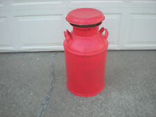 """Vintage """"Midwestern"""" 10 Gallon Metal Milk/Creamer Can w/Lid- Dairy -Great Decor"""