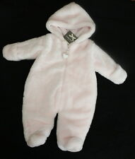 NWT Wendy Bellissimo Bunting One Piece Snowsuit Pink Girl Size 3 6 months Warm