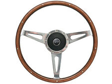 1968 - 73 Mercury Cougar Wood Finish Steering Wheel Kit with Cougar Emblem