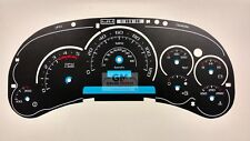 Cadillac Escalade Custom Gauge Face for Silverado Sierra Duramax Diesel 03 04 05