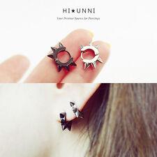 18g Tiny Spiked Hoops Earrings / Men Spike Earrings / surgical steel/ ear hoops