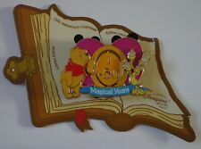 DLRP Countdown to 15th Anniversary J-50 Winnie the Pooh and Lumiére Spinner Pin