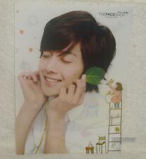SS501 Kim Hyun Joong The Face Shop Promo Folder (Clear File)