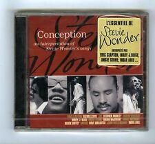 CD (NEW) STEVIE WONDER  CONCEPTION (VARIOUS)