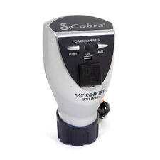Cobra 200 Watt Power Inverter CPI200CH 12V DC To 120V AC 5V USB Uses Cup Holder