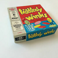 Tiddledy Winks Vintage Games Somerville Industries Ontario Intact bilingual HTF