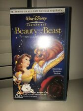 BEAUTY AND THE BEAST MASTERPIECE WALT DISNEY VIDEO / VHS special Limited Edition