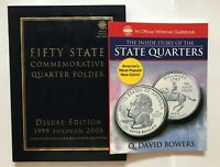 STATE QUARTERS FOLDER 1999-2009 P&D DELUXE EDITION & STATE QUARTER STORY BOOK