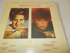 BRENDA LEE - LITTLE MISS DYNAMITE - OZ 20 TRK VINYL LP