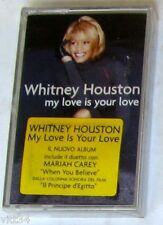 WHITNEY HOUSTON - MY LOVE IS YOUR LOVE - Musicassetta Cassette Tape  Sealed