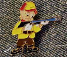 Elmer Fudd Enamel Brooch Pin~Yellow~Hunting Wabbits~Looney Tunes~Warner Bros.