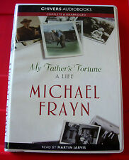 Michael Frayn My Father's Fortune 8-Tape UNAB.Audio Bk Martin Jarvis Author Biog
