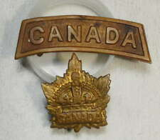 First World War, Canadian Army Badge Lot 0731-07