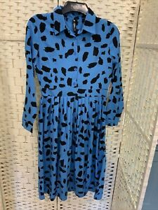Reduced To £5 Now INFLUENCE LADIES BLUE DRESS SIZE 10