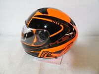 Nzi - Integralhelm Must II  Orange Gr.L Helm Helmets