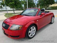 New Listing2001 Audi Tt Roadster 2dr Roadster 5-Spd w/Esp
