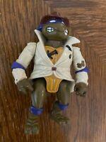 1990 TMNT DONATELLO UNDERCOVER Teenage Mutant Ninja Turtles Playmates Vintage
