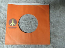 sleeve only MONUMENT RUST  45 record company sleeve only    45