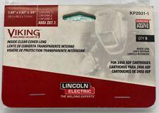 Lincoln Kp2931 1 Viking 2450 5 Pack Helmet Inside Cover Lens Free Shipping