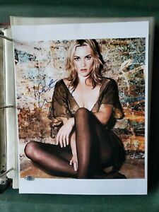 Sexy Kate Winslet signed 8x10 photo autographed picture Titanic