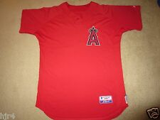 California Anaheim angels #51 MLB Majestic Spring Training Game Worn Jersey 48