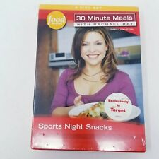 30 Minute Meals with Rachael Ray 3 Disc set Sports Night Snacks- New Sealed