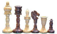 "The Taj Symbol of Love Wooden Premium Handicraft Chess Set King 4"" 32 Pcs"