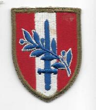 WWII US Army Austrian Occupation Forces patch