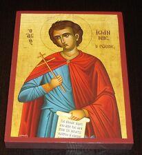 El santo de la johnnes russe icono Icon ICONE icoon ICONE icoon Orthodox икона